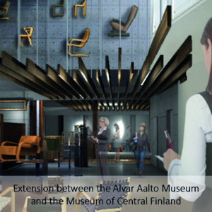 Extension between the Alvar Aalto Museum and the Museum of Central Finland